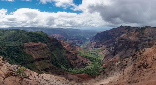 Circuit à Hawaii vue aérienne de Doahu pendant le séjour voyage préparé par routedhawaii.com