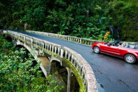 Road-trip à Hawaii sur la route d'Hana, à Mau'i