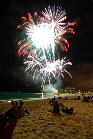 sejour-voyage-circuit-hawaii-feu d'artifice