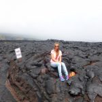 Charlène à Hawaii